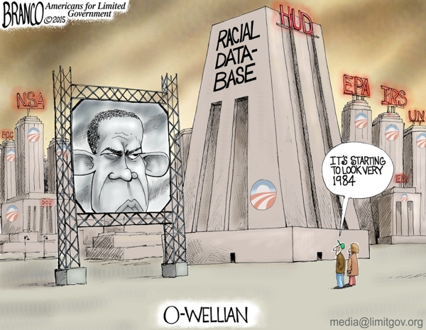 Obama wiretapping Cartoon