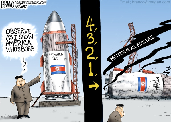 N Korea Missile Test Failure