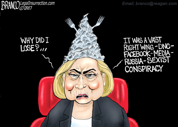 Hillary Blames Everyone