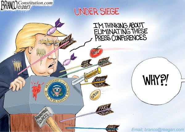 Trump Under Siege