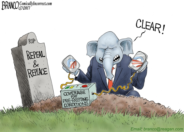 Repeal and Replace Passes the House