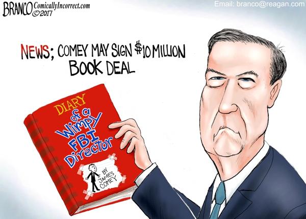 Comey Book Deal