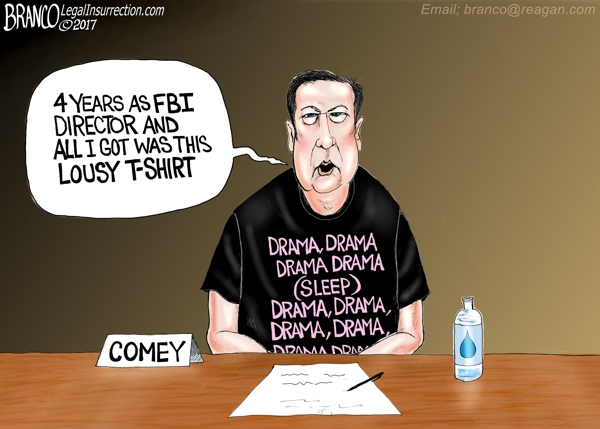 Comey's Disgruntled Testimony