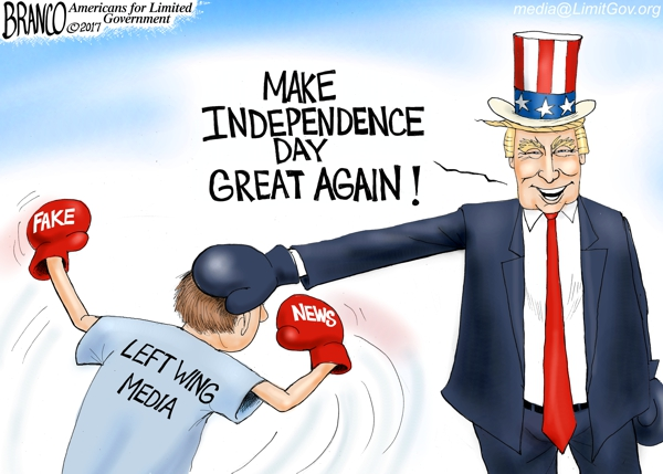 Trump Independence Day
