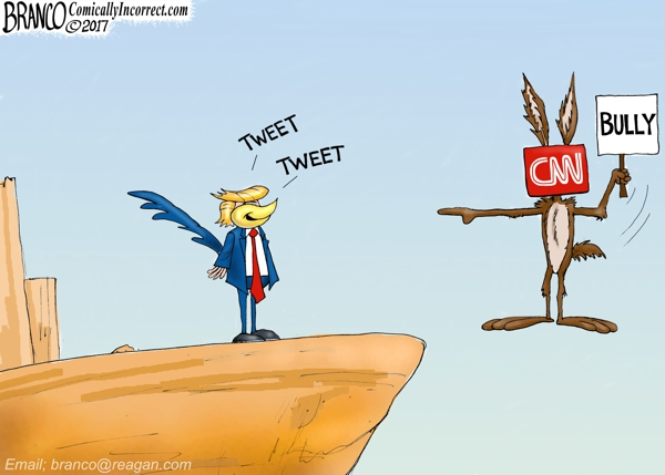Trump vs CNN Meme