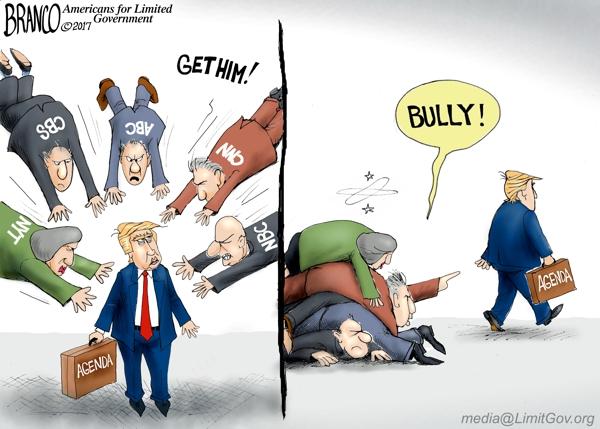 Media Piling on Trump