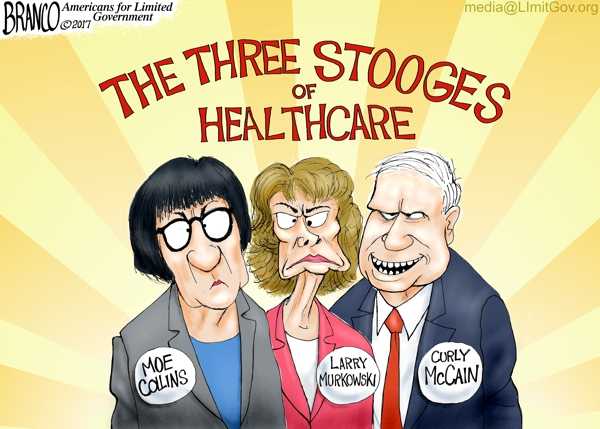 Murkowski, McCain, and Collins