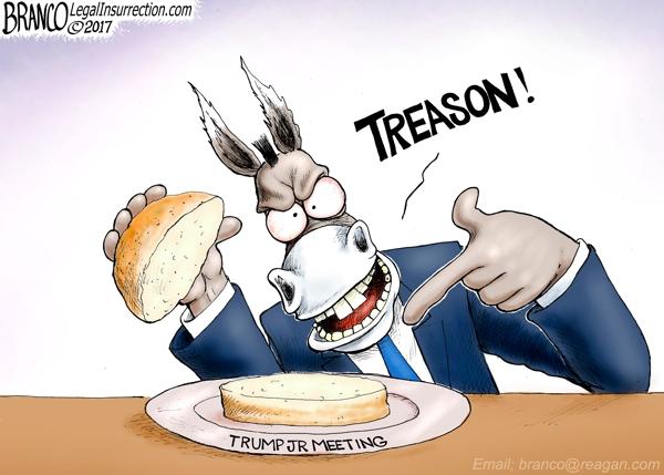 Trump Jr Treason
