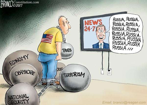 Russia Collusion Fatigue