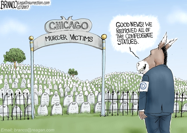 Chicago Murders vs Statues