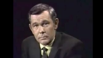 Clapper Caper with Dragnet's Jack Webb and Tonight Show Host Johnny Carson