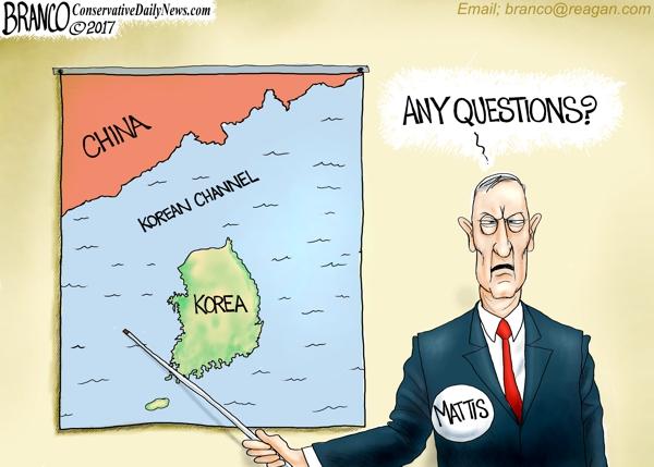 Mattis Warns N. Korea