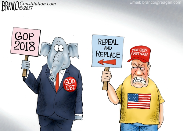 Replace the GOP