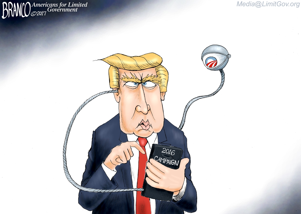 Obama Wiretaps Trump