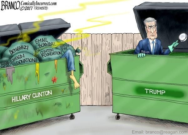 Mueller Trump vs Hillary