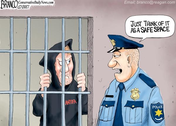 Antifa in Jail