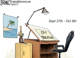 A.F. Branco On Vacation