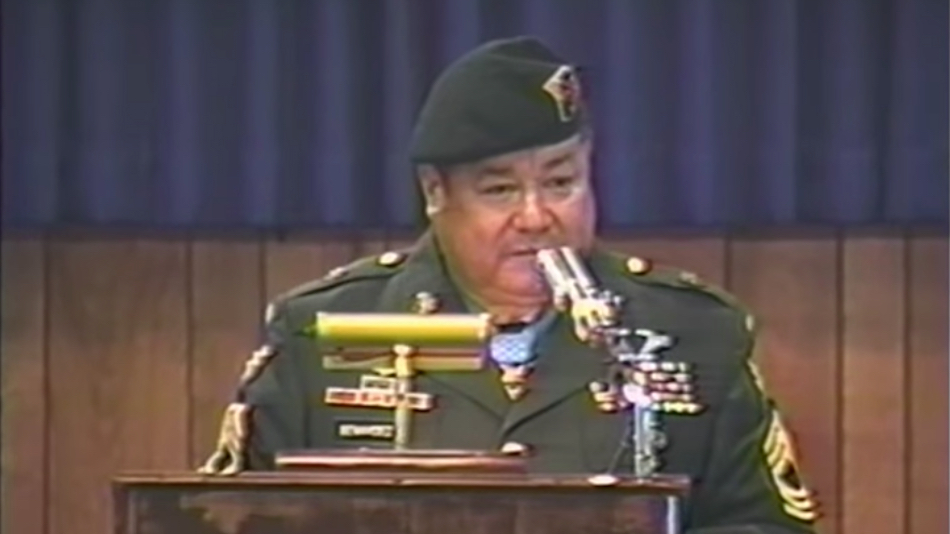 Congressional Medal Of Honor Recipient Master Sergeant Roy P. Benavidez