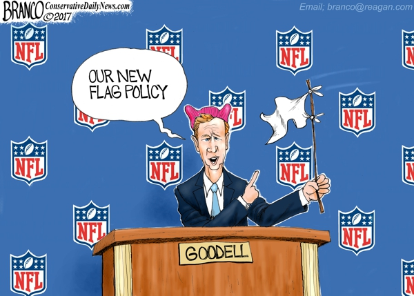 Roger Goodell Surrenders