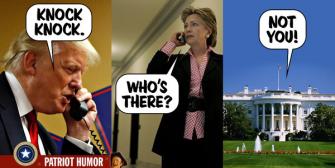 Hey Hillary! Knock Knock!