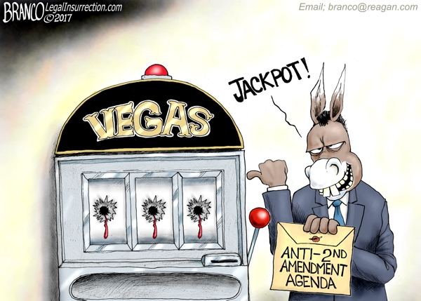 Vegas Shooting Cartoon