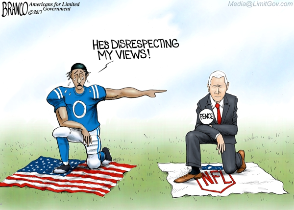 Pence NFL Cartoon