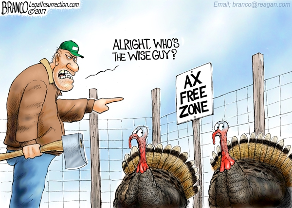 Thanksgiving 2017 Cartoon