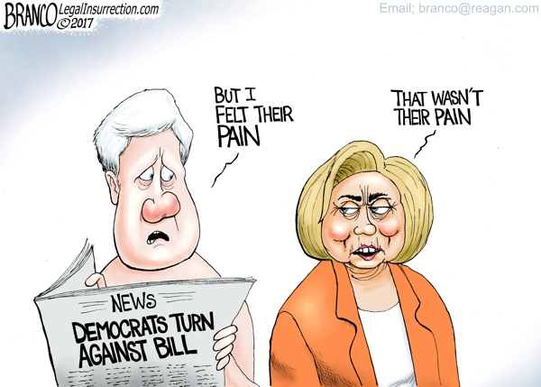 Democrats Turn On Bill Clinton