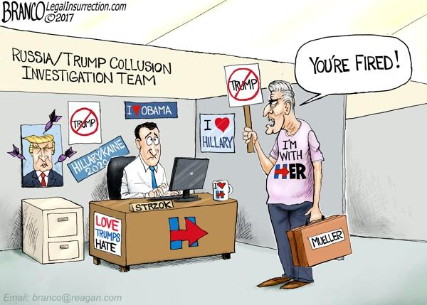 Mueller Fires Strzok