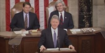 Bill Clinton On Immigration: 1995 SOTU Sounds Like Trump! (Video)