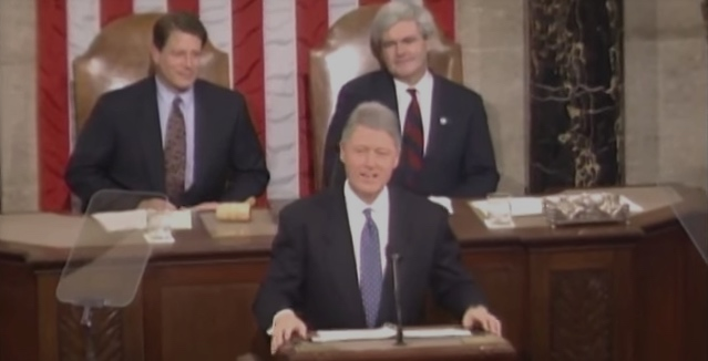 Bill Clinton 1995 SOTU Featured