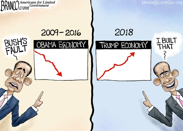 Obama Steals the Credit