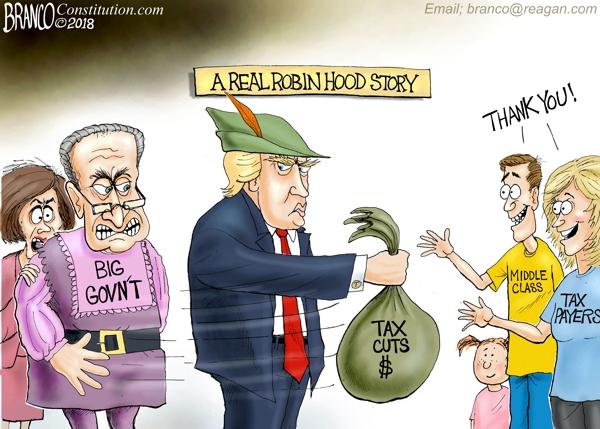 Trump Is Robin Hood