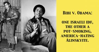 No Wonder Bibi Netanyahu Was Overjoyed to See Obama Exit the WH!
