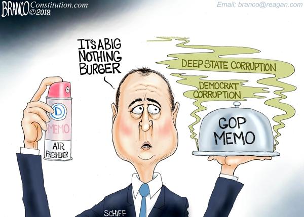 Schiff Democrat Memo