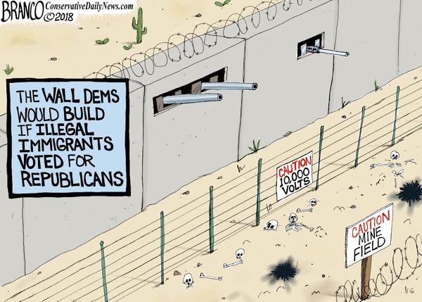 The Democrats Wall