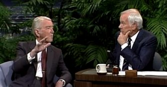 Jimmy Stewart on the Tonight Show — Funny and Patriotic! (Video)