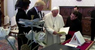 Donald Trump Has Lunch With the Pope and MSM Reports…