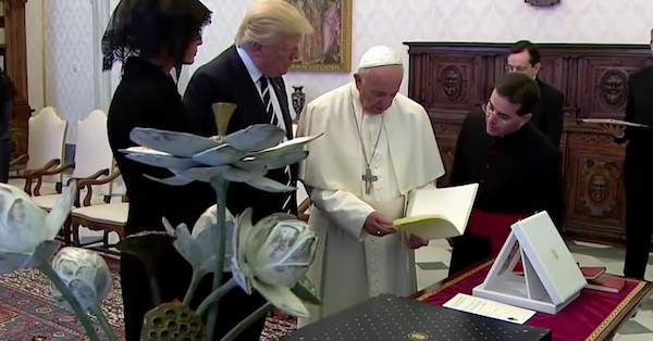 Trump and the Pope