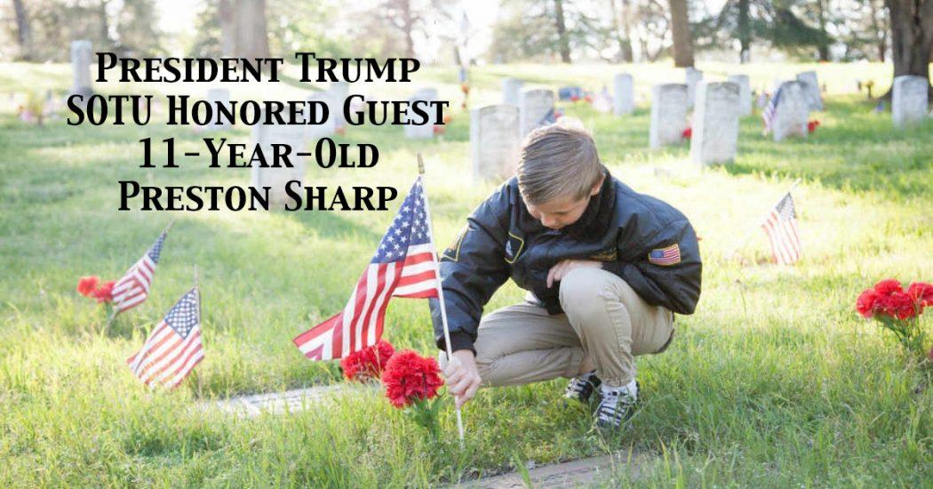 Trump SOTU Guest Preston Sharp