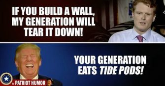 Joe Kennedy III Declares His 'Generation' Will Tear Down that Wall!