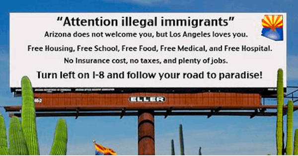 CA loves illegals