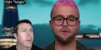 Pink-Haired Nimcompoop Re the Trump Campaign Using Facebook Data (Video)