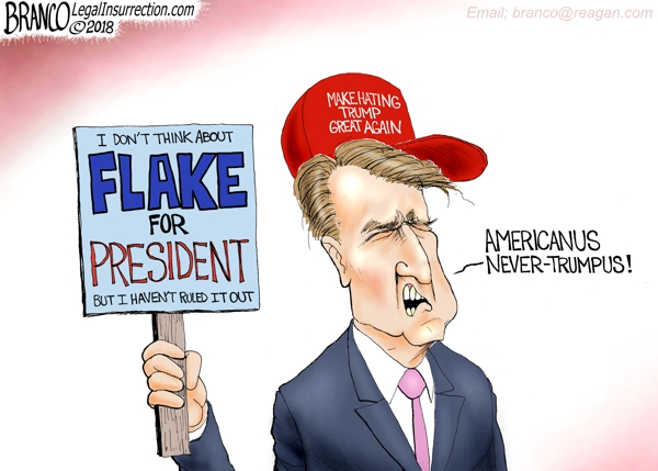 Jeff Flake Americanus Never-Trumpus