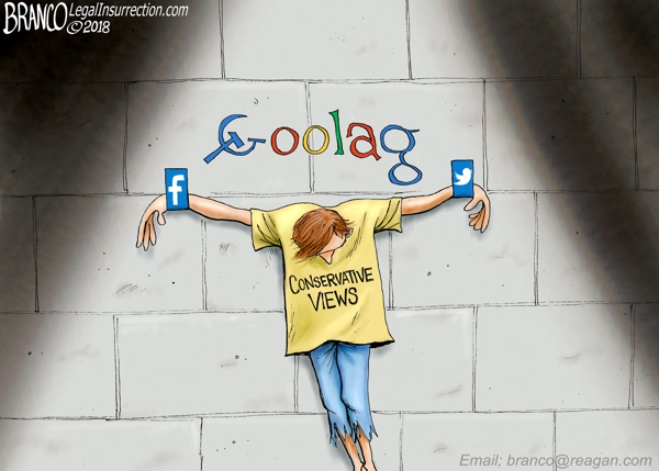 Google Oppressing Conservatives