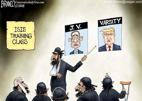 Trump Defeats ISIS