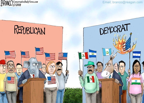 Democrats Against American Citizens