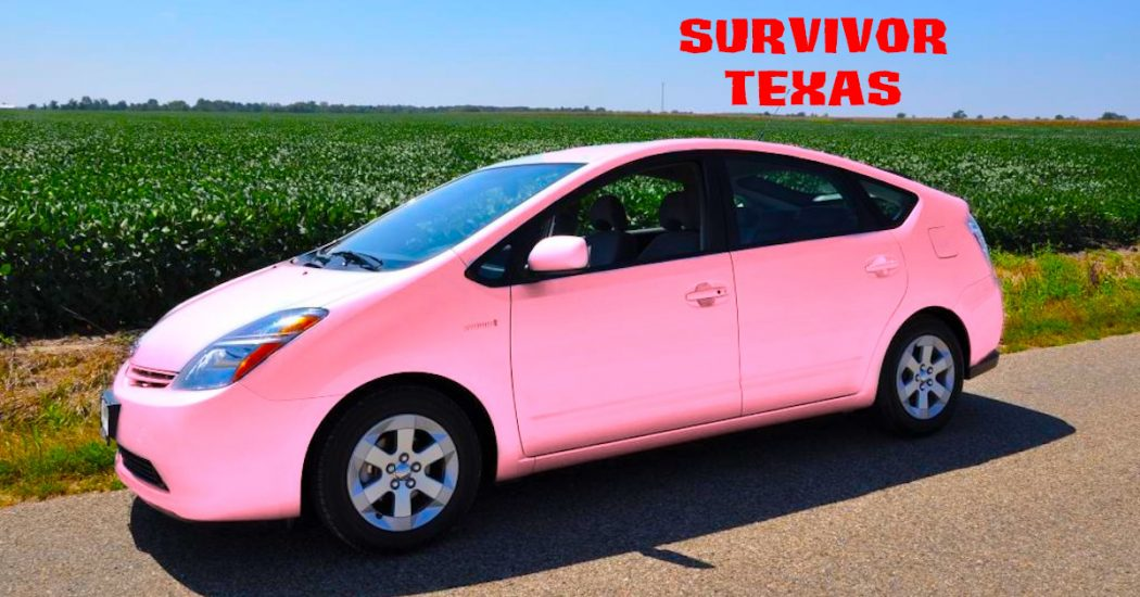 Survivor Texas Pink Prius