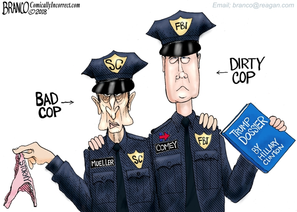 Bad Cops Mueller and Comey