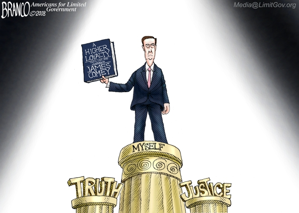 Comey Morally Self-righteous